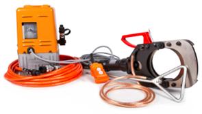Комплект гидравлических ножниц с электрической помпой ESIC-132-35KV