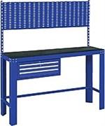 Синий инструментальный верстак МАСТАК, ящик, задняя панель 541-11500B