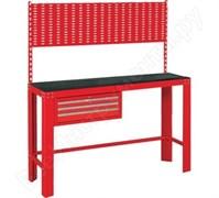 Красный инструментальный верстак МАСТАК, ящик, задняя панель 541-11500R