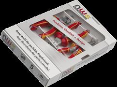 Комбинированный набор инструментов VDE 1000В 3 предмета NWS 782