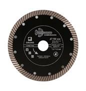 Алмазный диск Турбо Ультратонкий 150x22,23 мм Trio-Diamond GTT703