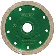 Алмазный отрезной диск Hilberg Турбо Ультратонкий S-тип 125x22,23 мм Trio-Diamond HM602
