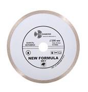 Сплошной алмазный отрезной диск 200x25,4 мм Trio-Diamond W405