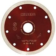 Сплошной алмазный отрезной диск Hilberg Ультратонкий 125x22,23 мм Trio-Diamond HM502