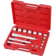 Набор алюминиевых оправок MACTAK для подшипников, 10-32 мм, кейс, 16 предметов 100-20017C
