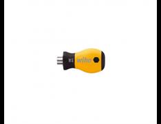 Короткий держатель бит Wiha 281-01ESD с рукояткой SoftFinish ESD 1/4'' 32484