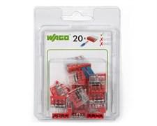 Мини-упаковка клемм Wago 2273-204/996-020 без контактной пасты