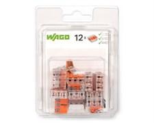 Мини-упаковка рычажковых клемм Wago 221-412/996-016