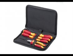 Набор инструментов Wiha Professional electric VDE 9300-018 для электрика 6 ед. 33969