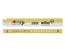 Складной метр Wiha Longlife Plus 410 2001 2 м 27055