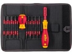 Набор изолированных инструментов Wiha SlimVario VDE 2831 T18, 18 ед. 41231