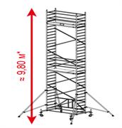 Алюминиевая вышка-тура Krause ProTec XS 9,8м 920072