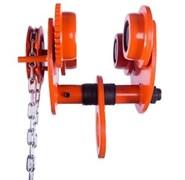 Приводная тележка для ручной тали TOR GCL 20 т 3 м