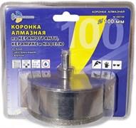Алмазная коронка по керамике с центрирующим сверлом 100 мм Trio-Diamond 400100