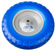 Полиуретановое колесо Зубр Профи 380 х 16 мм 39912-2