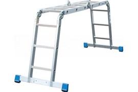 Алюминиевая четырехсекционная шарнирная лестница Алюмет TL 4022