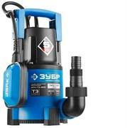 Погружной дренажный насос Зубр Профессионал для чистой воды НПЧ-Т3-400