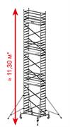 Алюминиевая вышка-тура Krause ProTec 11,3м 910196