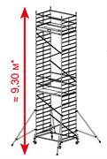 Алюминиевая вышка-тура Krause ProTec XXL 9,3м 911179