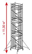 Алюминиевая вышка-тура Krause ProTec XXL 11,3м 911193