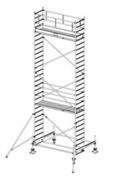 Алюминиевая вышка-тура Krause Stabilo 100 8,4м 741097