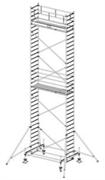 Алюминиевая вышка-тура Krause Stabilo 100 10,4м 741110