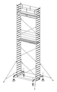 Алюминиевая вышка-тура Krause Stabilo 100 9,4м 751966