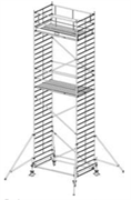Алюминиевая вышка-тура Krause Stabilo 500 9,4м 735102