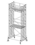 Алюминиевая вышка-тура Krause Stabilo 500 7,4м 755766
