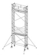 Алюминиевая вышка-тура Krause Stabilo 1000 8,3м 738080