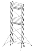 Алюминиевая вышка-тура Krause Stabilo 1000 9,3м 748096