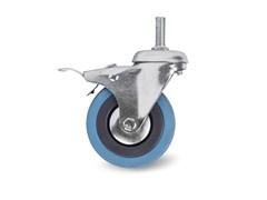 Поворотное аппаратное колесо TOR SCtgb 55, 125 мм