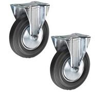 Неповоротное промышленное колесо TOR FC54 125 мм