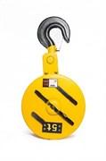 Крюковая подвеска для электротали TOR CD1 5 т 16 мм (2 ролика)
