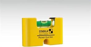 Магнитный уровень Stabila Pocket Electric 18115