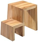 Деревянная стремянка-табурет Hailo U Designer stool 2 ступени 4452-001