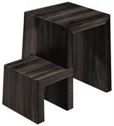 Деревянная стремянка-табурет Hailo U Designer stool 2 ступени 4452-201