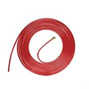 Тефлоновый направляющий канал FoxWeld 1,0-1,2мм красный 4м