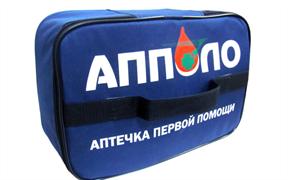 Производственная аптечка первой помощи в тканевом футляре Ампаро 105002-1