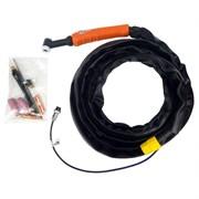Горелка FoxWeld UnoTIG-26 8м (М16, кнопка)