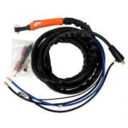 Горелка FoxWeld UnoTIG-18 4м (35мм2, кнопка, ж/о)