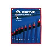 Набор выколоток King Tony с протектором 9 предметов 1009GPN