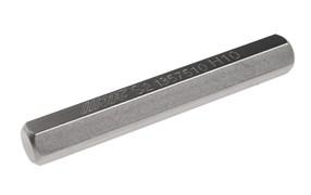 Удлиненная шестигранная бита HEX H10х75мм 10мм S2 JTC-1357510