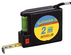 Рулетка Stayer Nivelir 2 м 3408-2