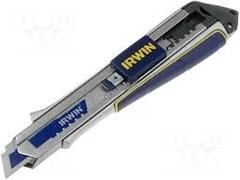 Нож Irwin ProTouch Snap-Off 18 мм с фиксатором ПУ10507106
