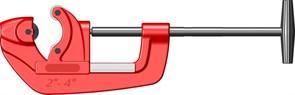 """Ручной труборез Zenten для стальных труб до 4"""" (114мм) 6054-1"""