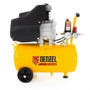 Пневматический компрессор Denzel 24 л 58061