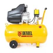 Пневматический компрессор Denzel 50 л 58066