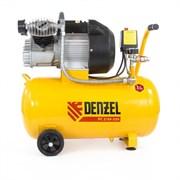 Пневматический компрессор Denzel 50 л 58081