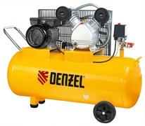 Пневматический компрессор Denzel 100 л 58091